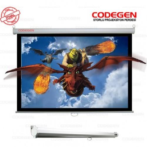 CODEGEN (AX-18) 180x180 Storlu Projeksiyon Perdesi